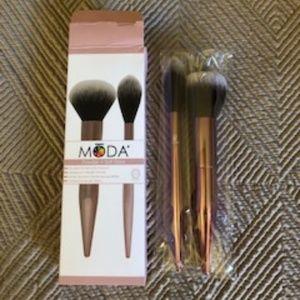 MODA Powder + Soft Glow Brushes